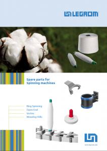 Ersatzteile für Textilmaschinen (Katalog)